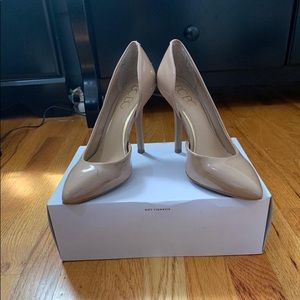BCBG Nude D'orsay Shoes
